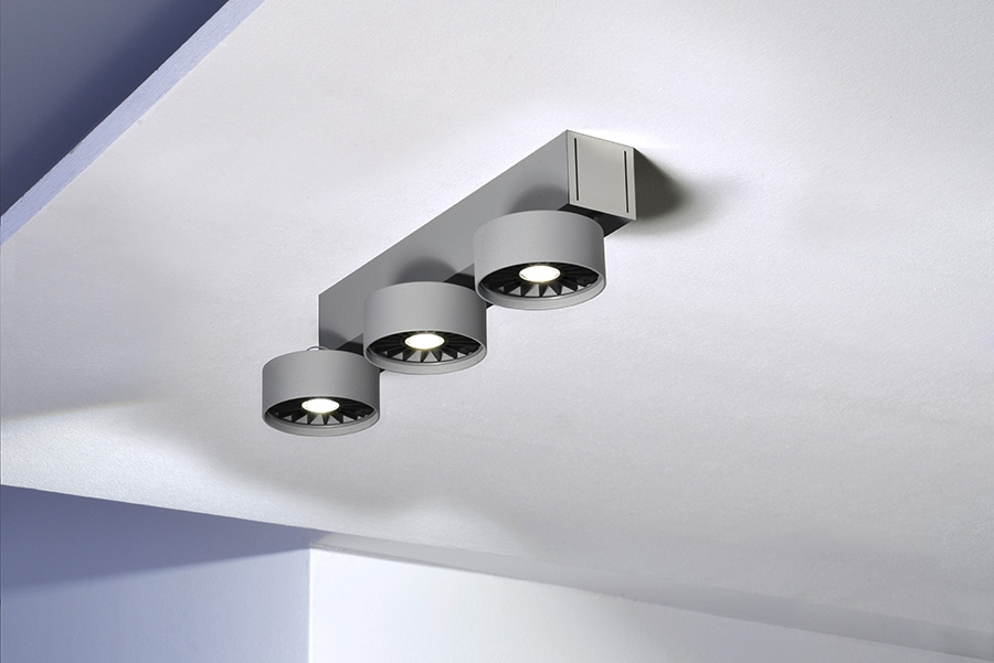 ABSOLUT BASICA 3 LED - SILBER