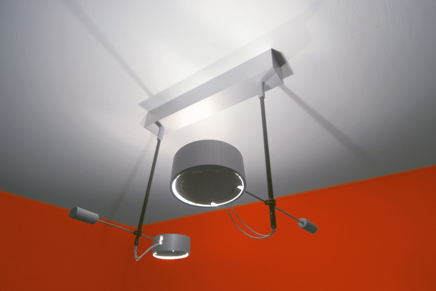 ABSOLUT WD2 CEILING LIGHT CHROME MAT
