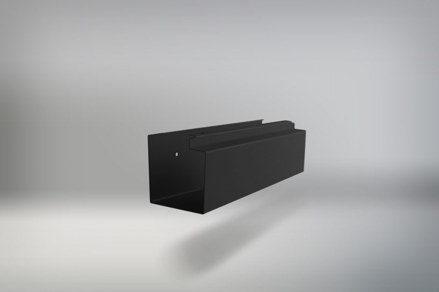 NEWSPAPER HOLDER BLACK