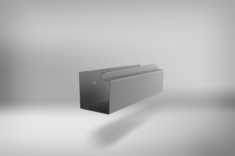 NEWSPAPER HOLDER SILVER