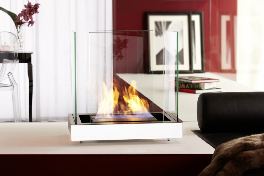 TOP FLAME STAINLESS STEEL WHITE