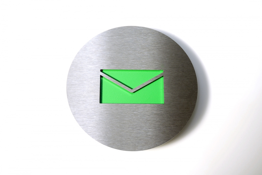 PICTOGRAM MAIL GREEN