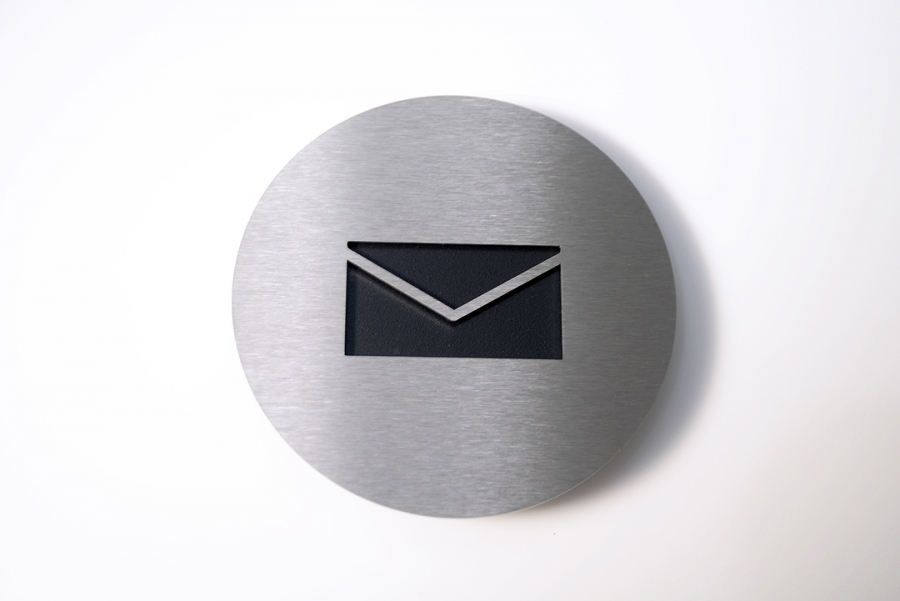 PICTOGRAM MAIL BLACK