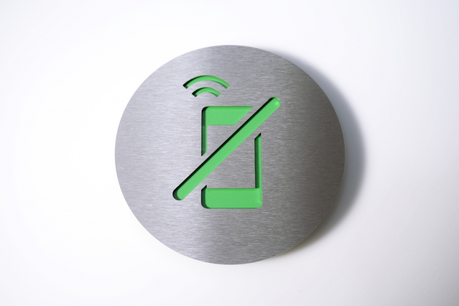 PICTOGRAM NO CELL GREEN