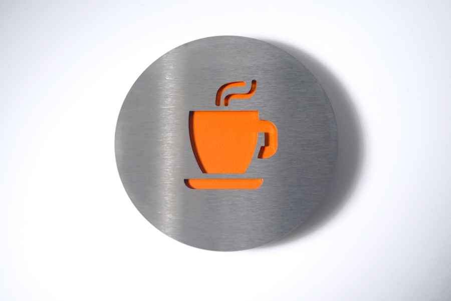 PICTOGRAM COFFEE ORANGE