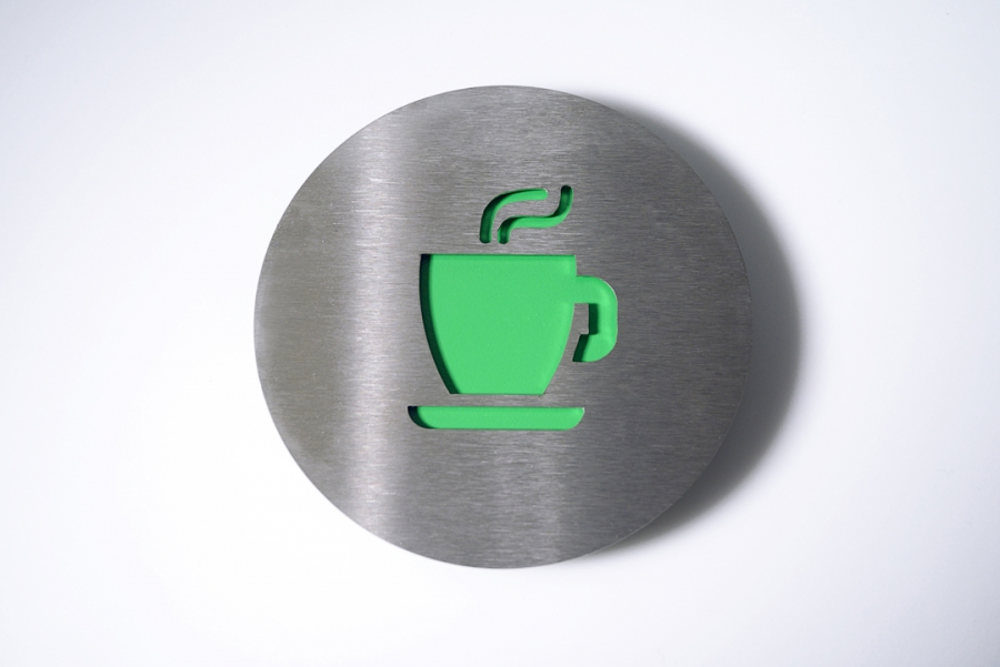 PICTOGRAM COFFEE GREEN