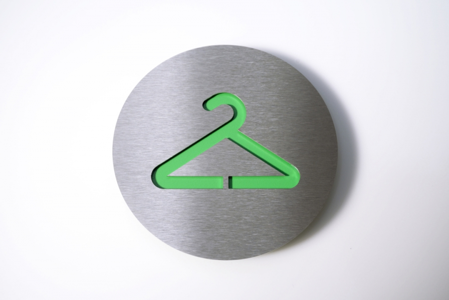 PICTOGRAM WARDROBE GREEN