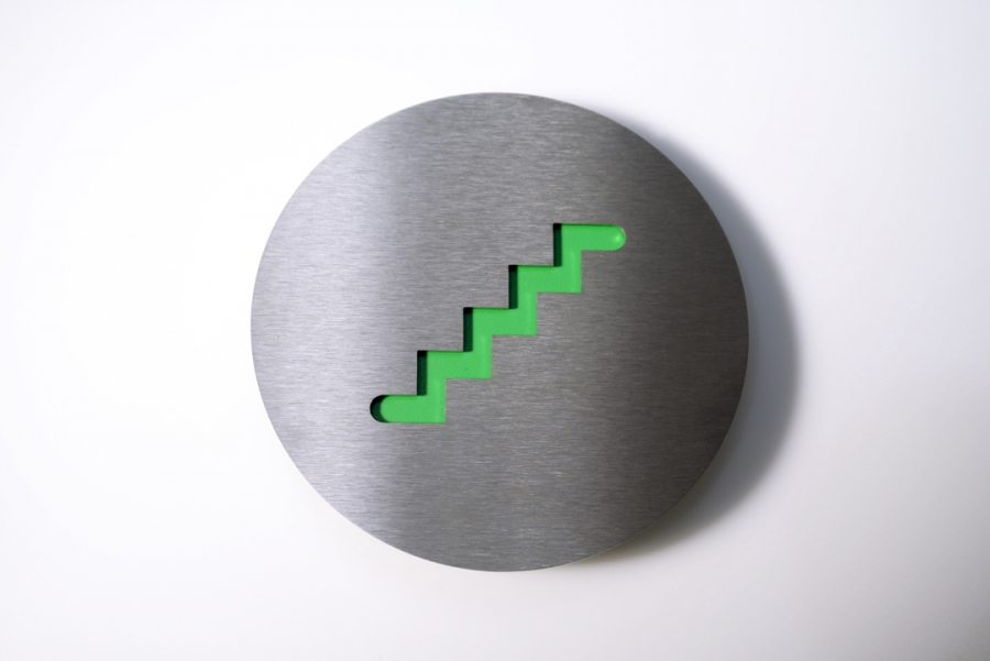 PICTOGRAM STAIRS GREEN