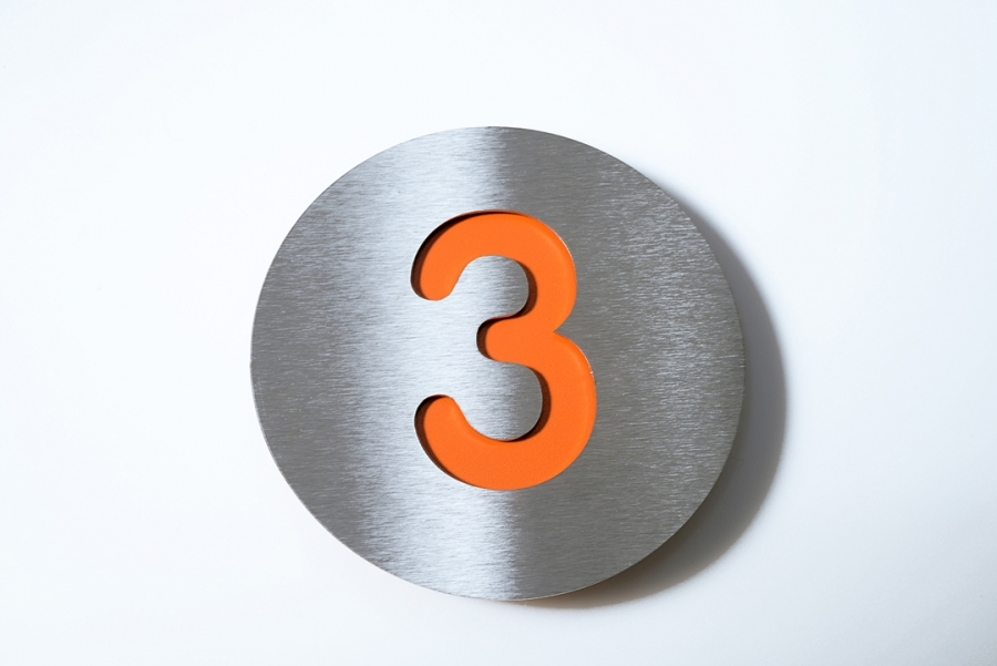 House Numbers By Radius Design