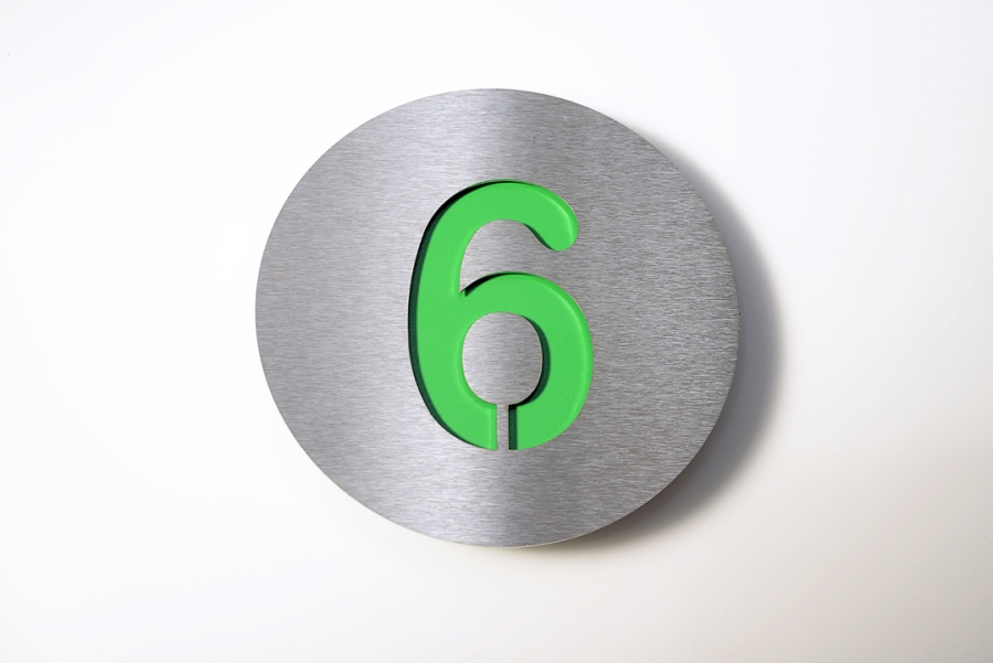 HOUSE NUMBER 6 GREEN