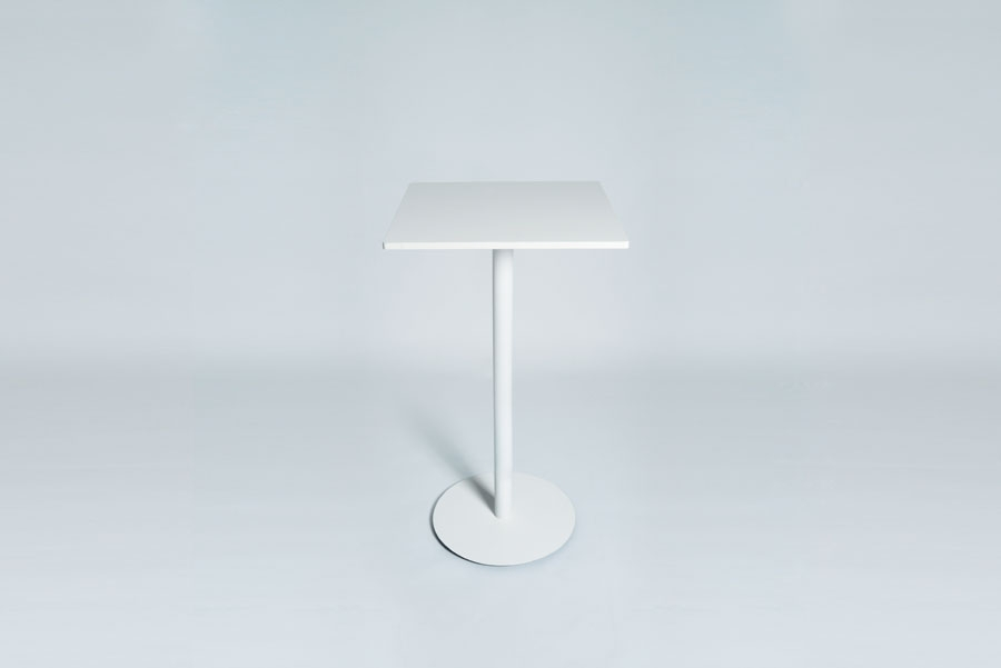 TABLEDANCE STANDING TABLE, MDF, WHITE