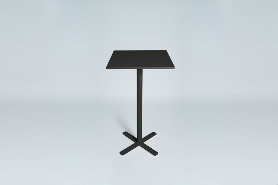 TABLEDANCE STANDING TABLE, MDF, BLACK