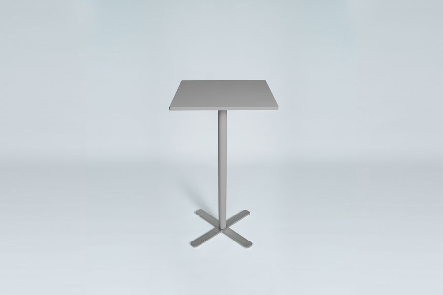 TABLEDANCE STANDING TABLE, MDF SILVER VA