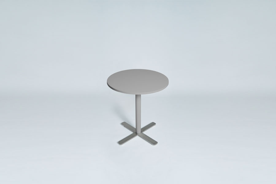 TABLEDANCE BAR TABLE, MDF, SILVER, VA