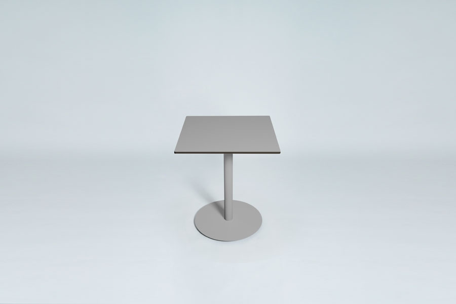TABLEDANCE BAR TABLE, HPL, SILVER SQUARE
