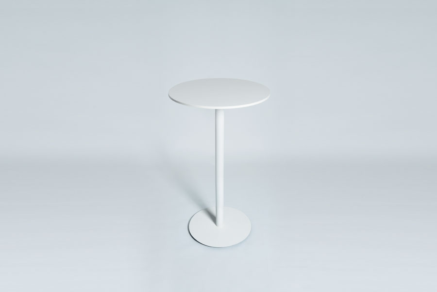 TABLEDANCE STANDING TABLE, HPL, WHITE