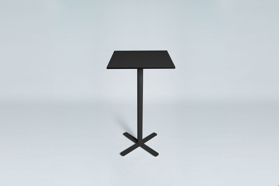 TABLEDANCE STANDING TABLE, HPL, BLACK SQ