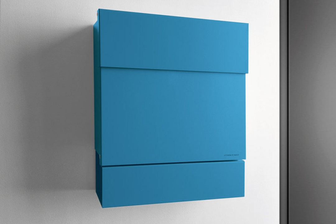letterman 5 blau briefkasten. Black Bedroom Furniture Sets. Home Design Ideas