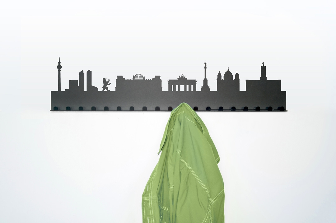 City coat rack berlin radius design for Product design berlin