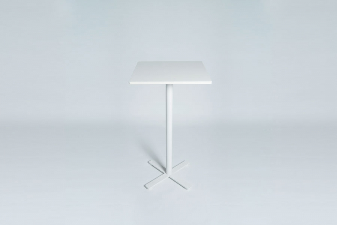 Tabledance Standing Table Mdf White
