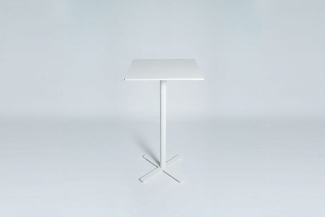Tabledance Standing Table Hpl White Sq