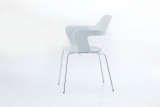 MU stacking chair. smooth lines ...