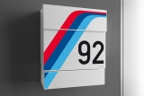 the sporty mailbox for racing fa...