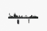 the SKYLINE key holder made of d...