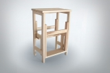 this practical pure beech »stoo...